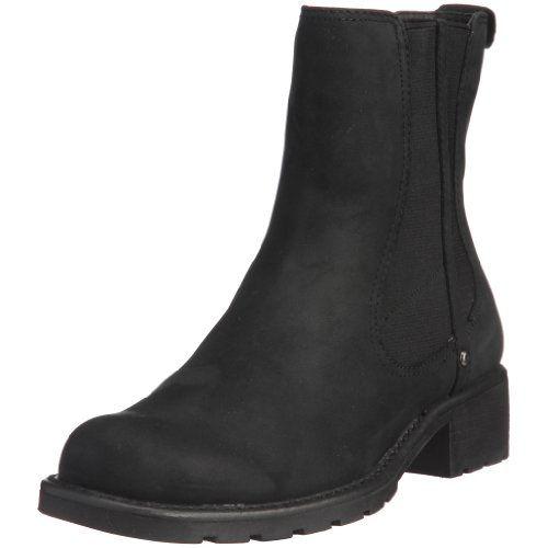 Clarks Orinoco Club, Damen Halbschaft Stiefel, Schwarz (Black Leather), 39 EU - http://uhr.haus/clarks/clarks-orinoco-club-damen-halbschaft-stiefel-39