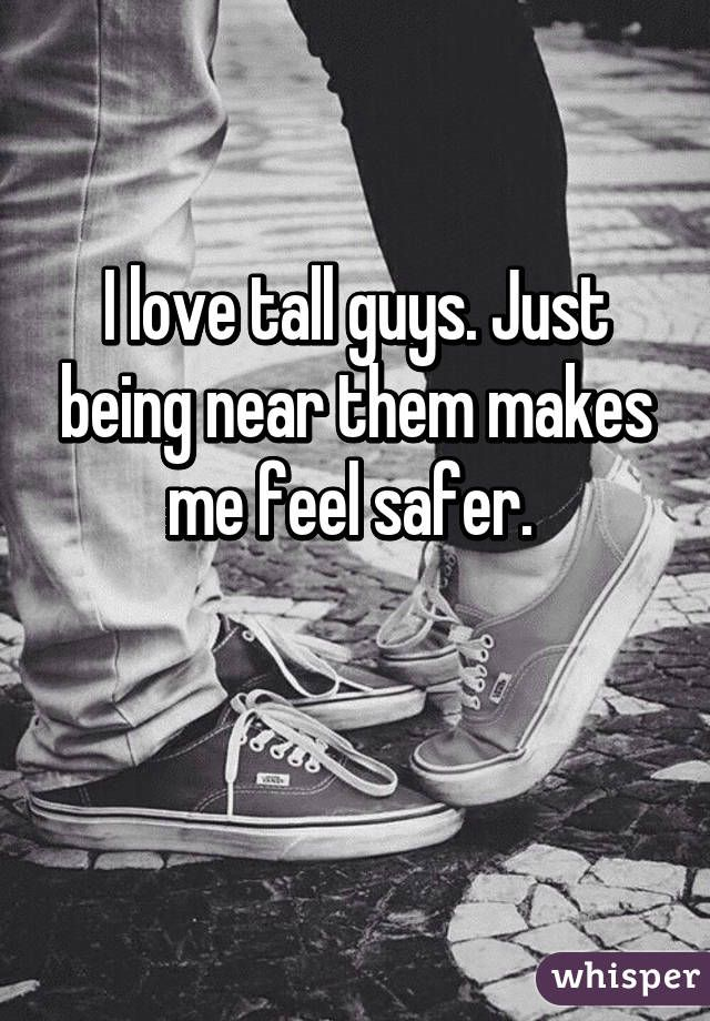 Whisper App. Confessions from girls on guys' height.