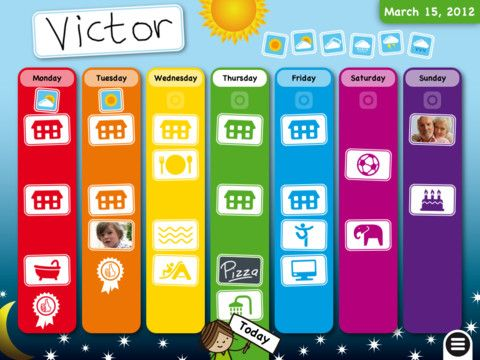 kids weekly planner - my kids could use this!