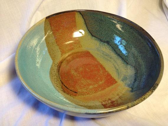 TriGlazed Bowl by maryrizo: Triglaz Bowls, Pottery Bowls