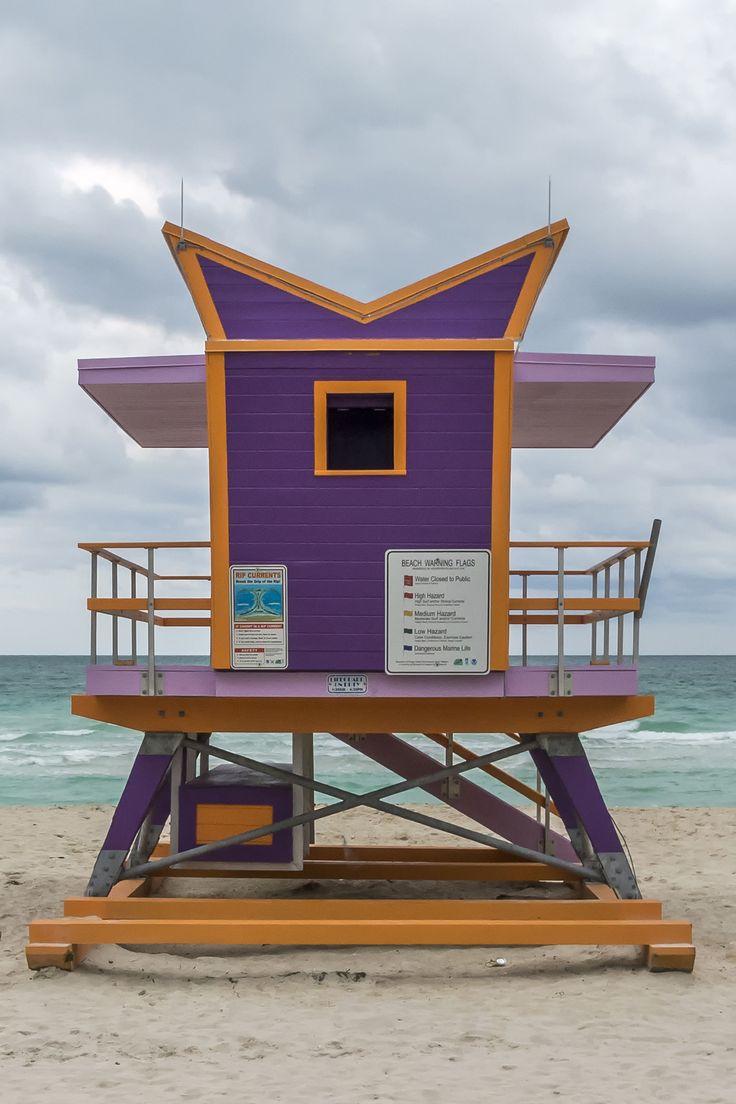 South Beach Lifeguard Chair, Miami in 2020 Beach