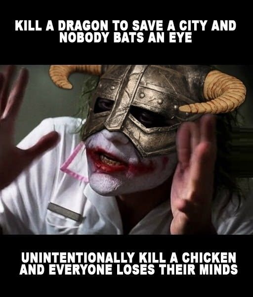 Dragon vs Chicken // funny pictures - funny photos - funny images - funny pics - funny quotes - #lol #humor #funnypictures