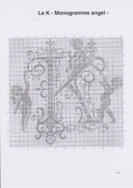 Gallery.ru / Фото #14 - JD327 - Monogrammes Angels - lyulnar