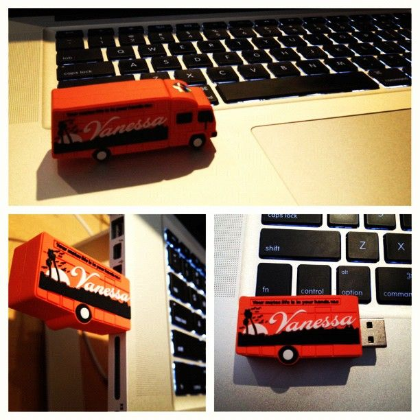 Everyone at Vanessa HQ fights over our super cute USBs!