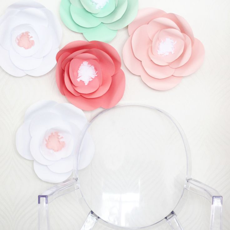 The 7 best images about paper flowers on pinterest diy giant paper flower tutorial mightylinksfo