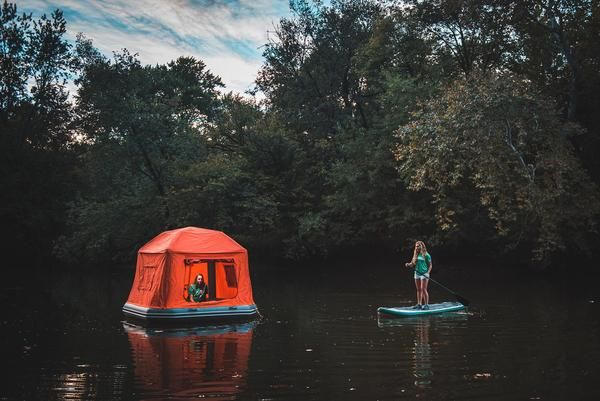 Shoal Tent Tent Camping Floating Raft Camping Resort