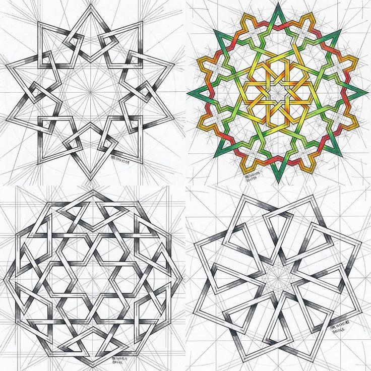 islamic geometric patterns book pdf