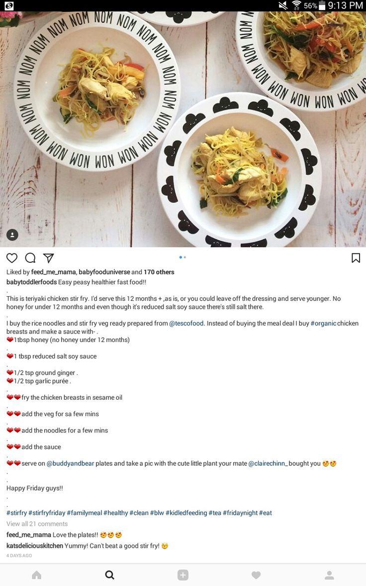 Teriyaki Chicken Noodles.
