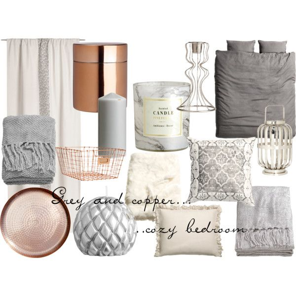 Grey and copper / color scheme for wedding
