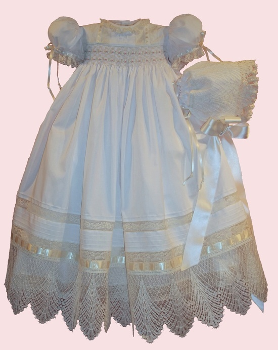 heirloom sewing | Heirloom Sewing / patgarretsonheirlooms.com 180 CHRISTENING GOWN FOR ...