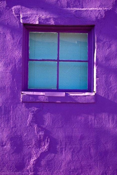 Mooie kleur paars om de boel op te vrolijken