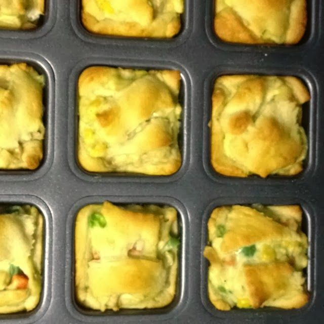Mini Homemade Chicken Pot Pie | Multiplying 128 Hours Together