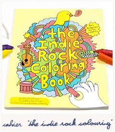 the indie rock coloring book 9780811870948 - The Indie Rock Coloring Book