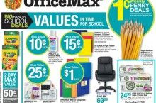 This websites finds all the back to school deals and compares the deals!