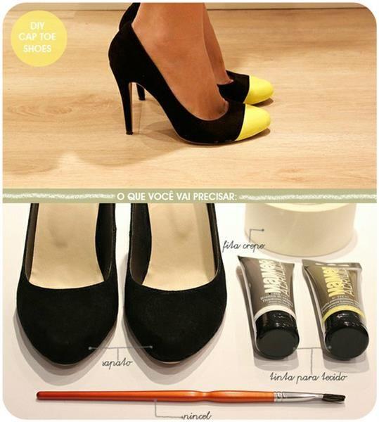 Чем украсить туфли