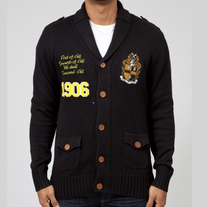 Alpha Phi Alpha Fraternity BMOC Cardigan - Alpha Phi Alpha - Greek - Shop