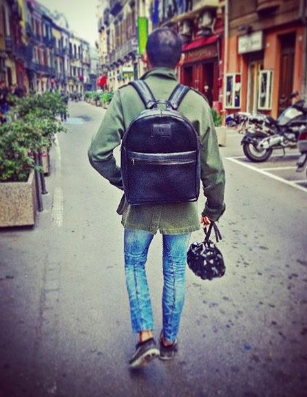 NEW Black leather backpack handmade!  Made in Italy  We are artisans and all of our materials are available in various styles and colors. Send us an