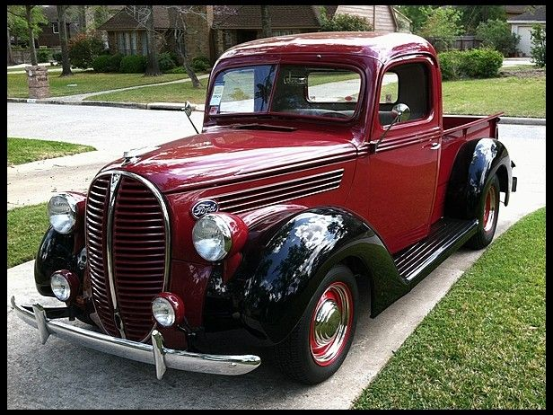 1938 Ford Pickup 321 CI, Automatic #MecumHouston..Re-pin....Brought to you by Agents of #CarInsurance at #HouseofinsuranceEugene