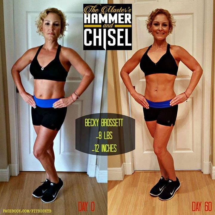 The results from Master's Hammer and Chisel are INSANE. Like woah. Can't wait to…