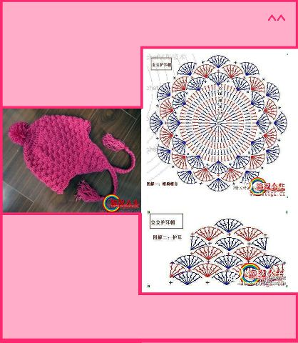 Scorzo Tricroche: Gráfico de toucas e boina de crochê                                                                                                                                                                                 Mais