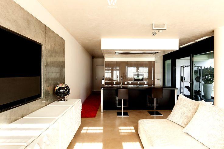 Drehbare Fernsehwand Moderne Wohnung | Tv | Pinterest | Fernsehwand Und  Moderne Wohnung