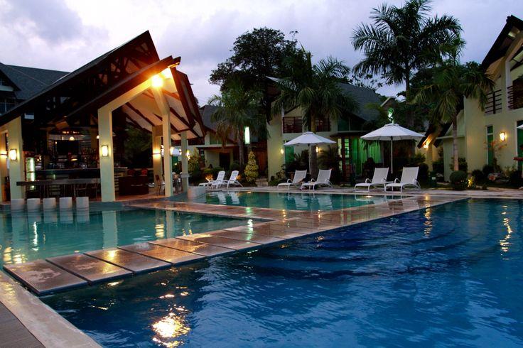 Aquatico Resort , Laiya BatangasPhilippines ... The floating bar