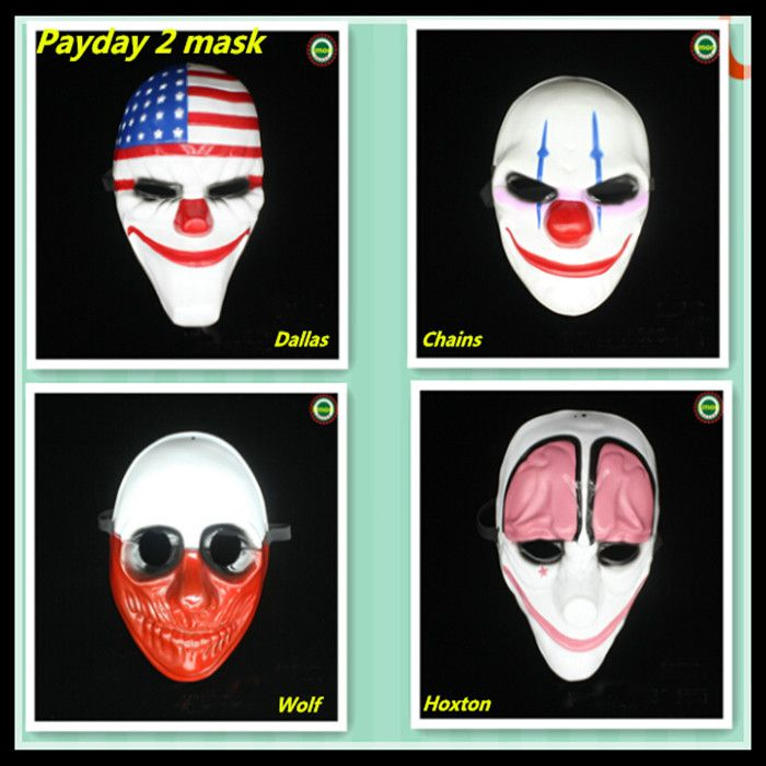 Ну вечеринку маски бесплатная доставка хэллоуин ну вечеринку новый горячий 1 шт. выплаты жалованья 2 косплей EVA маска необычные платья ну вечеринку Dallar волк цепи hoxton