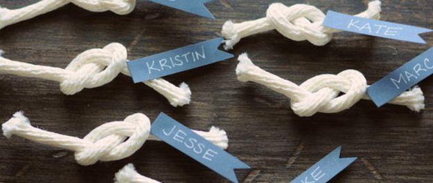 Adorable Nautical DIY Wedding Ideas