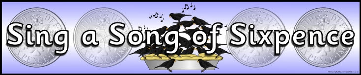 Sing a Song of Sixpence display banner (SB8984) - SparkleBox