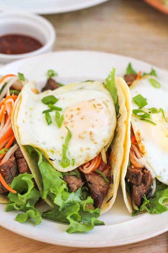 Recipe: Bibimbap Tacos — Recipes from The Kitchn