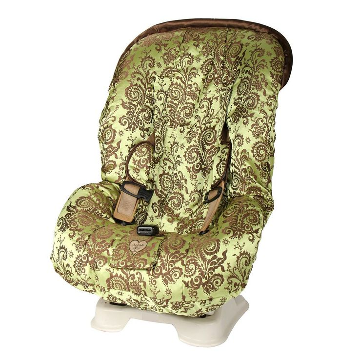 Baby Bella Maya Caramel Apple Swirl Toddler Car Seat Cover, Green