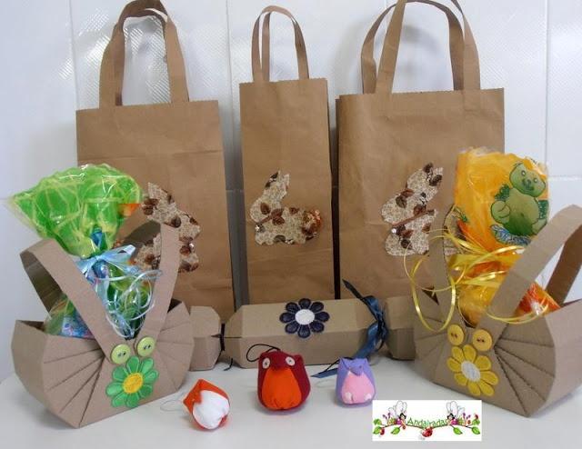 Andairadas: bolsas de papel reciclado