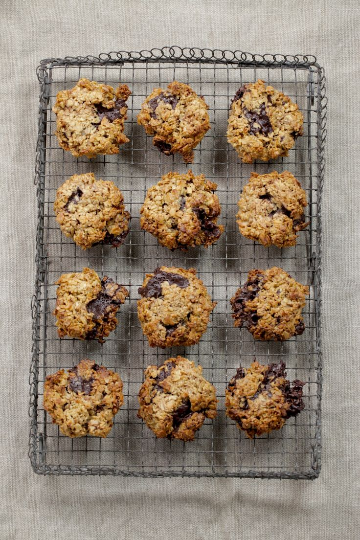 Oatmeal Chocolate Chip Cookies : The Healthy Chef – Teresa Cutter