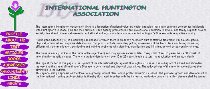 huntingtons disease and its ethics essay Genetic disorder essays and research papers | examplesessaytodaybiz  (maple syrup urine disease), and its effect on the breakdown of  huntingtons disease.