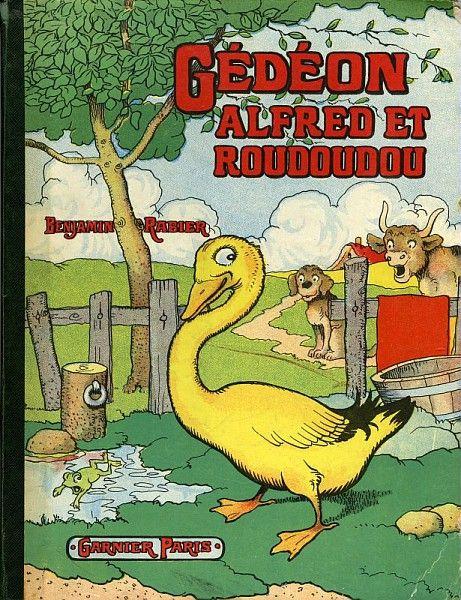 Benajmin Rabier, Gédéon Alfred et Roudoudou, 1950 /  Collections du Musée du Vivant - AgroParisTech