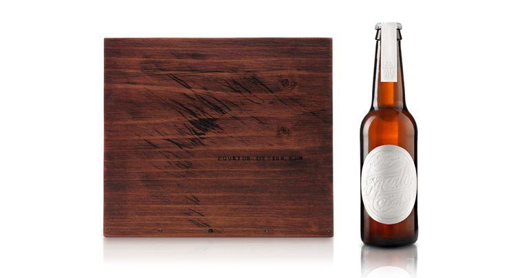 Self promotional beer by Equator Design.  Pentaward 2013