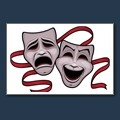 Drawing of Comedy and Tragedy Theater Masks k7800383 - Search Clipart, Illustration, Fine Art Prints, and EPS Vector Graphics Images - k7800383.jpg