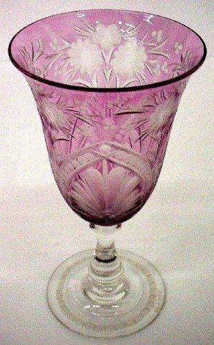 Goblet | Corning Museum of Glass #glass #amethyst #goblet