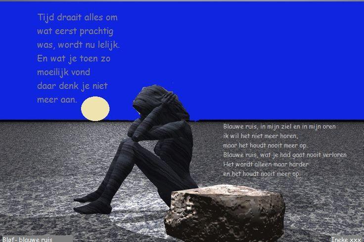 Blauwe ruis