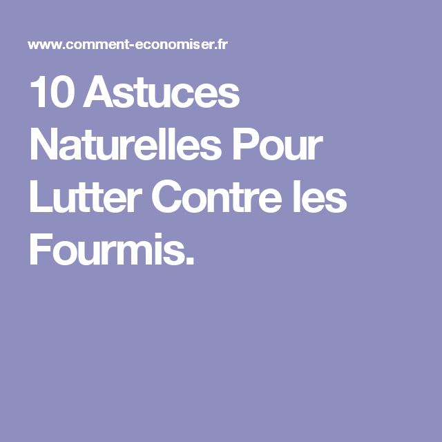 les 25 meilleures id es de la cat gorie contre les fourmis sur pinterest produit contre les. Black Bedroom Furniture Sets. Home Design Ideas