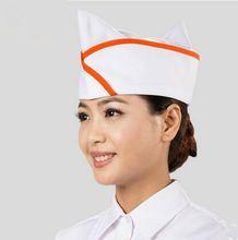 Coreia do chapéu do cozinheiro chefe branco chinês chapéu do cozinheiro chefe chapéu do cozinheiro chefe uniforme do cozinheiro chefe chapéu(China (Mainland))