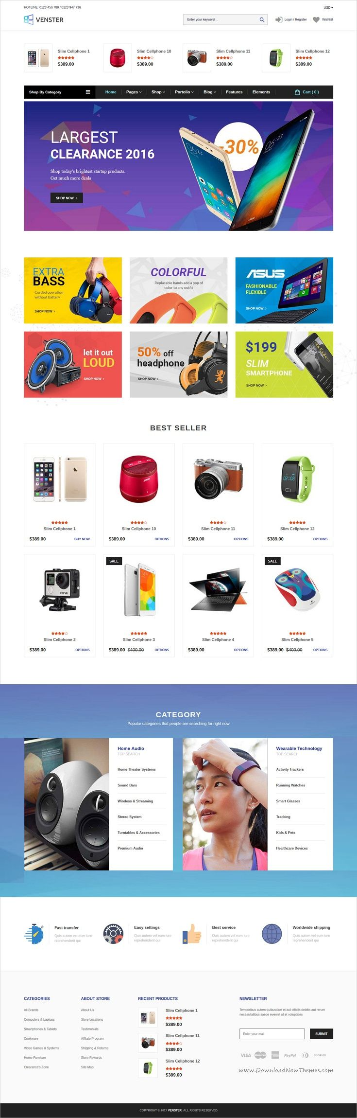 Venster is a wonderful responsive #Shopify theme for stunning #electronics store #eCommerce websites with drag and drop page builder download now➩ https://themeforest.net/item/venster-computer-shopify-theme-sections-page-builder-for-digital-electronics-hightech-store/19433418?ref=Datasata