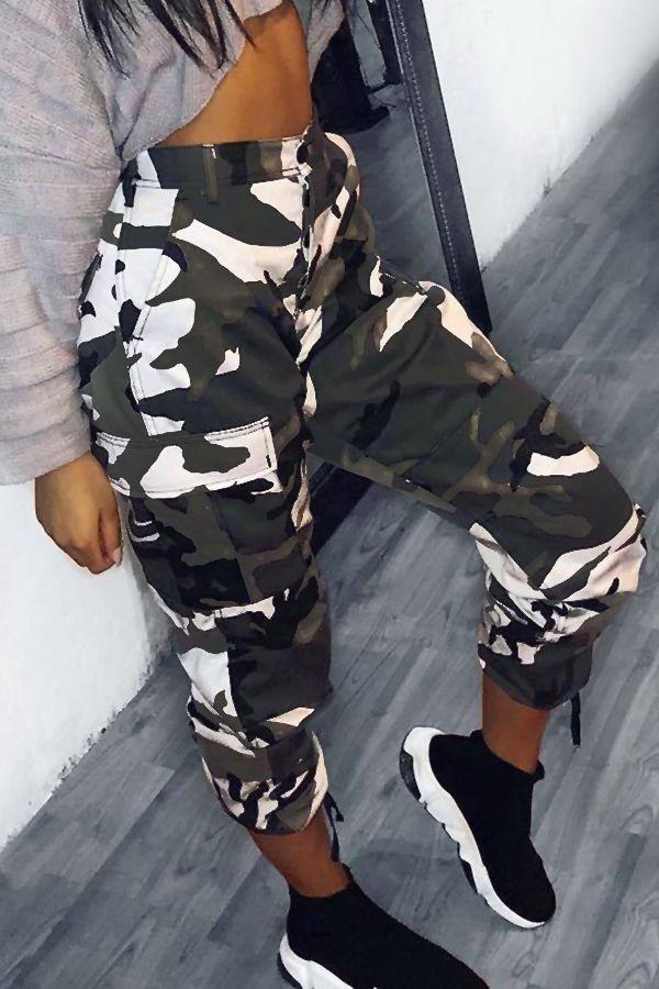Hermoso Pantalon Militar Moda De Ropa Ropa De Moda Pantalones De Moda
