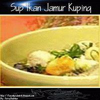 Sup Ikan Jamur Kuping