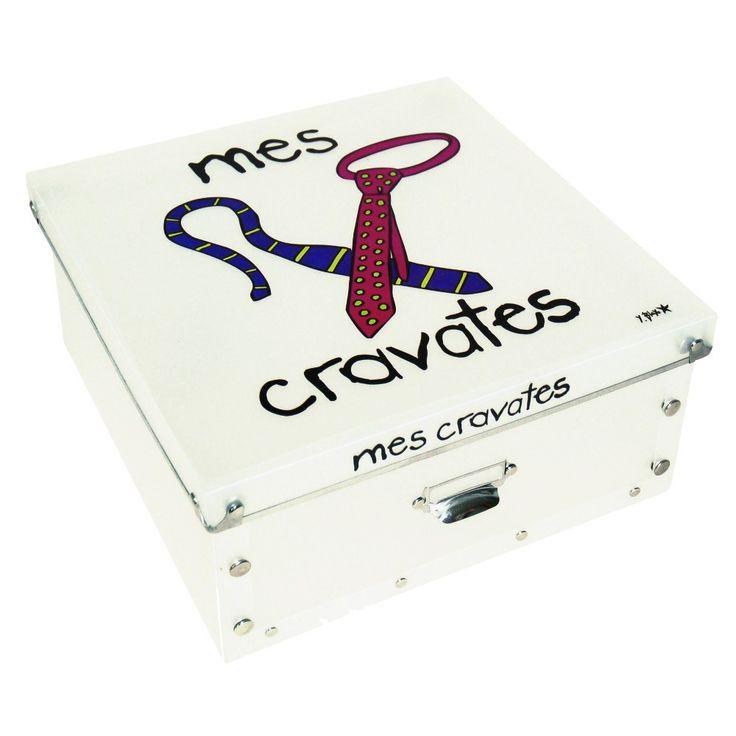 Коробка для галстуков Mes Cravates