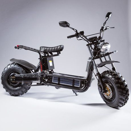 "Daymak Inc. brings new meaning to the phrase ""go where you want to go"" in the power-assist electric bicycle market. They've developed, designed and produced a AWD dual 500W motor eBike with features of an ATV, which is tough, sturdy, built to take..."