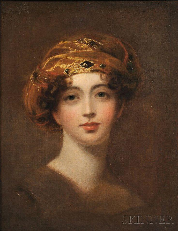 Thomas Sully (American, 1783-1872)      Portrait of Mary Bermingham, Countess Lietrim