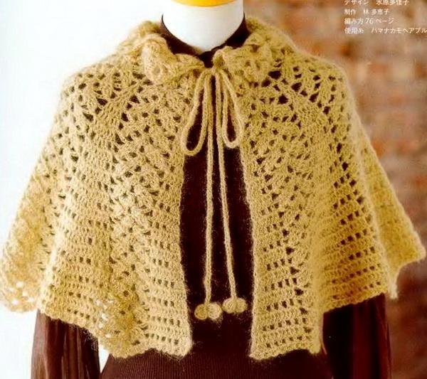 Crochet Shawls: Cape
