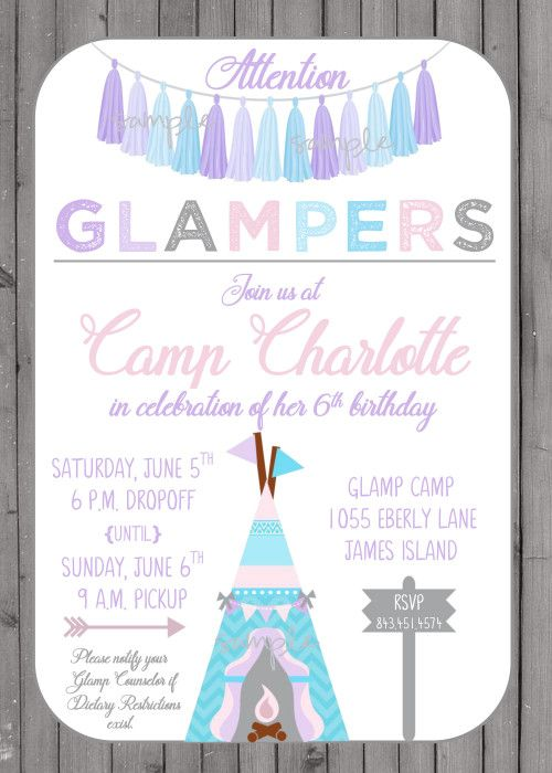 20 best TWEENS TEENAGE GIRL Birthday Party Invitations images on