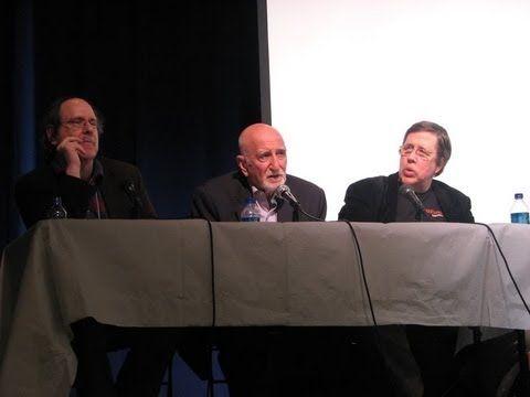 Paul Levinson, Dominic Chianese, David Lavery at Sopranos Wake Conference at Fordham University, May 2008